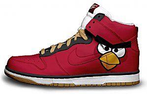 Zapatillas Geek Angry Birds