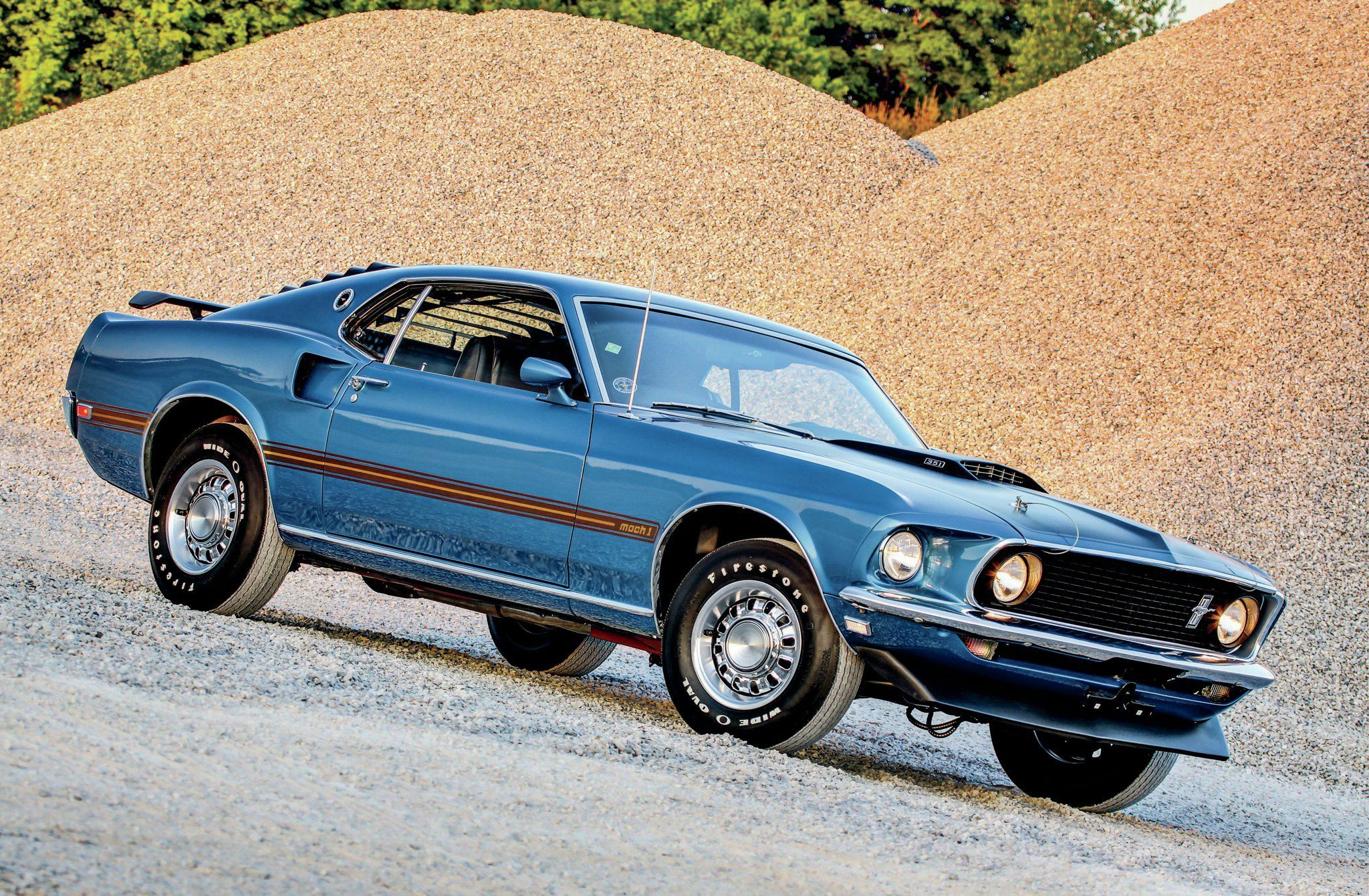 View 1969 ford mustang mach 1 blue front quarter photo 84660786 from 1969 ford mustang mach 1 second owner survivor