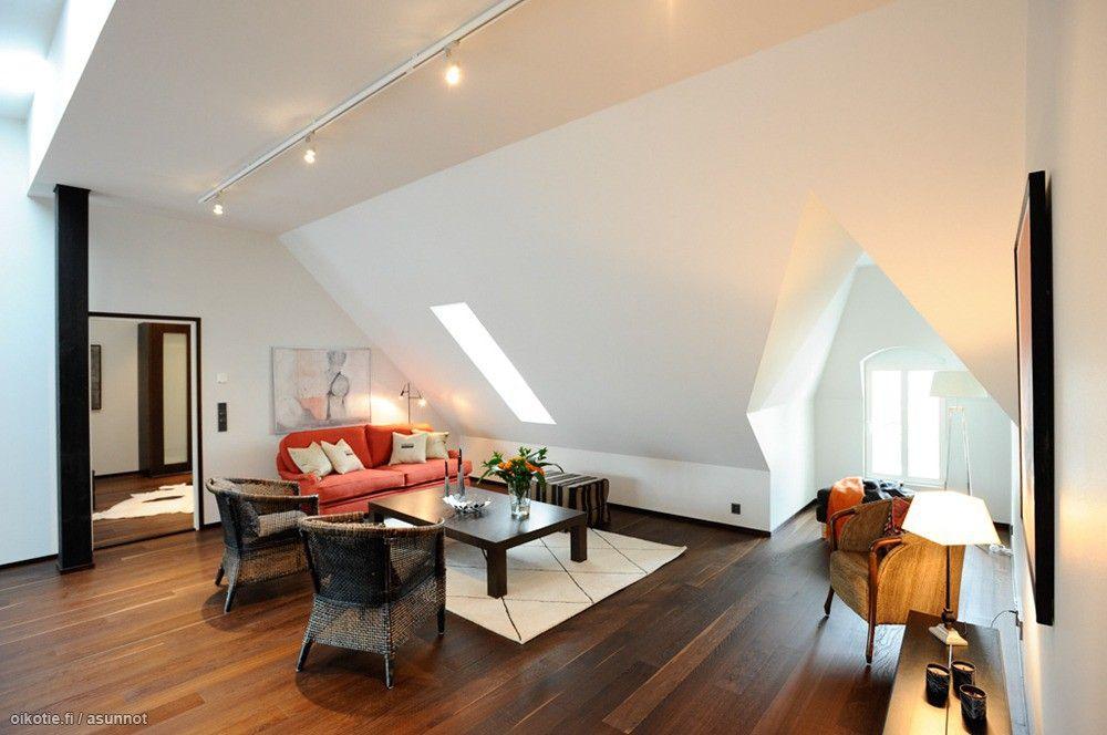 Myytävät asunnot, Luotsikatu 9, Helsinki #olohuone #oikotieasunnot