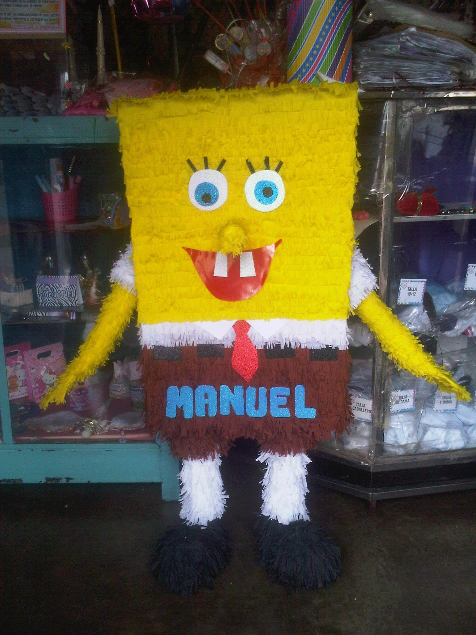 Piñata Bob Esponja Piñata Bob Esponja Piñatas Y Piñada