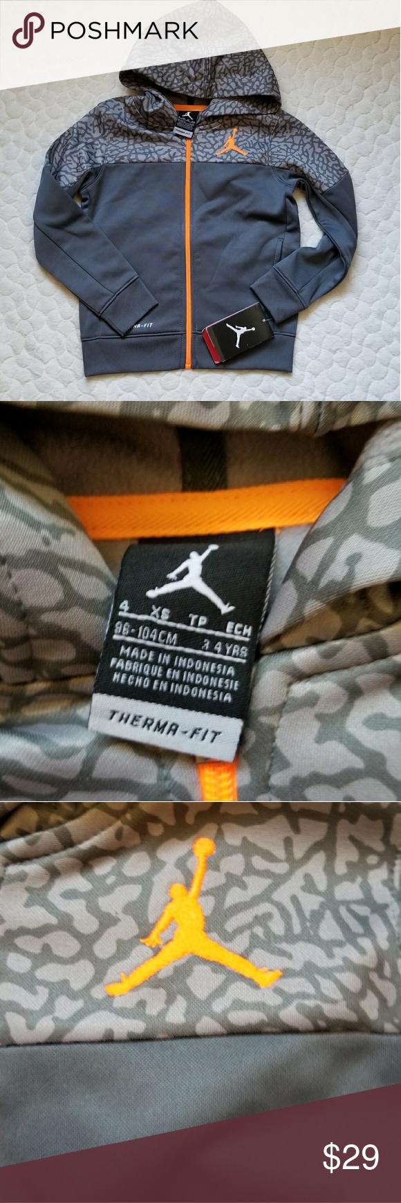 Nike therma fit jacket sweater hoodie air jordan nwt sweater