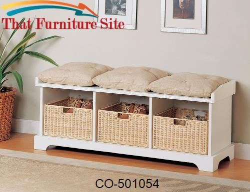 Benches Storage Bench with Baskets | Home: The Decor Edition ...