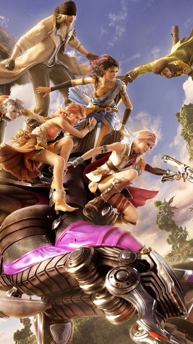 40 Hd Fantasy Iphone Wallpapers Lightning Final Fantasy Final
