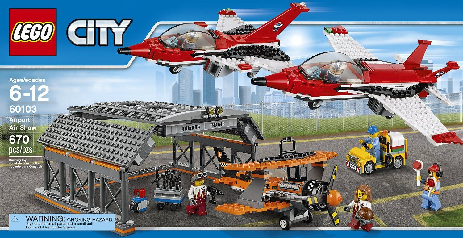 bf06023bdbc LEGO City Airport 60103 Airport Air Show Building Kit (670 Piece ...