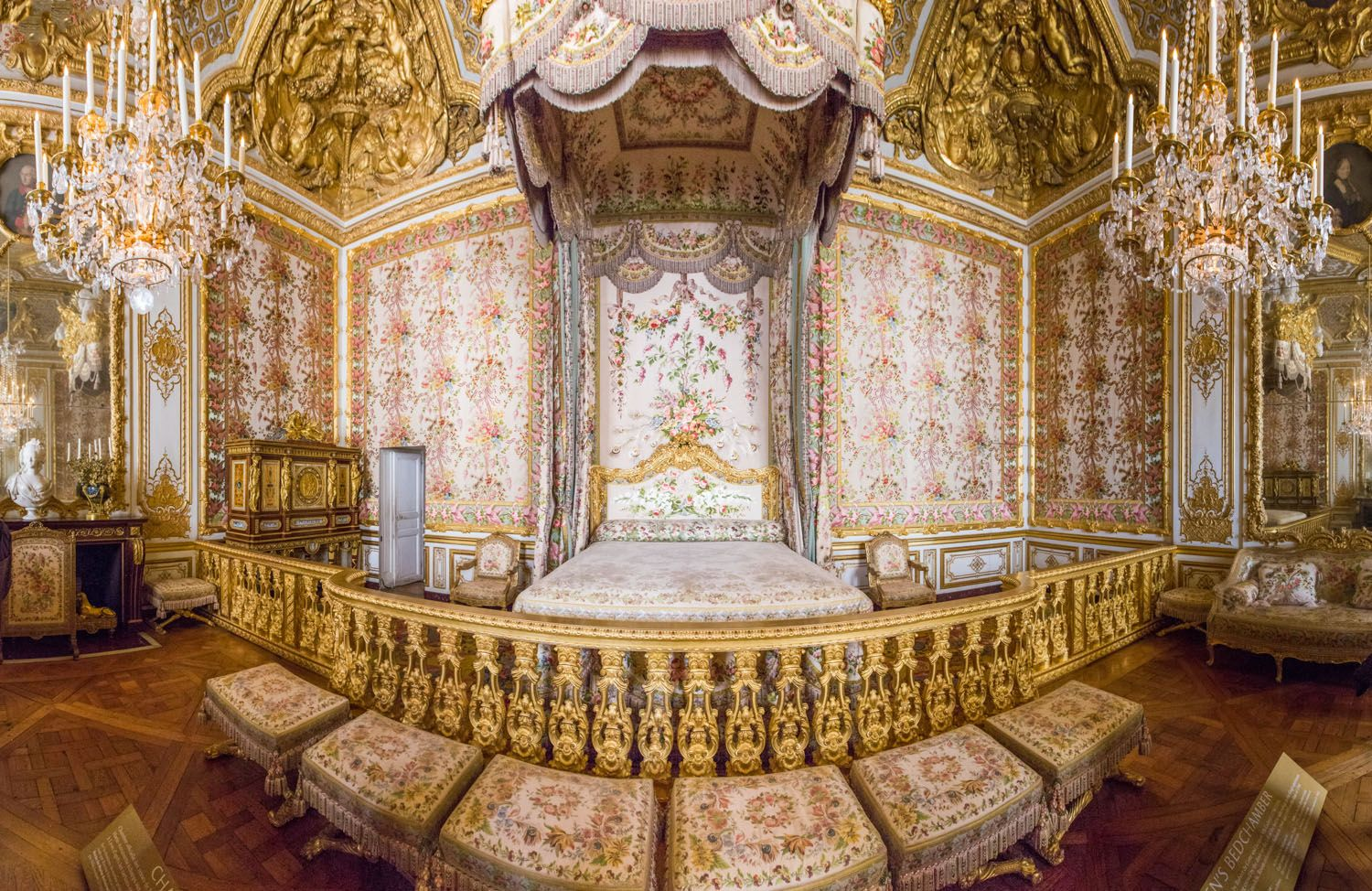 explore palace of versailles queen bedroom and more