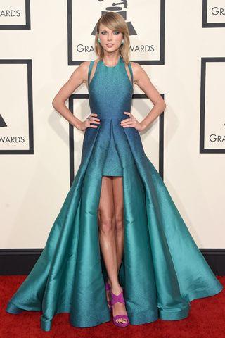 32656ac5eb El vestido más hermoso!!! Grammy 2015  TAYLOR SWIFT