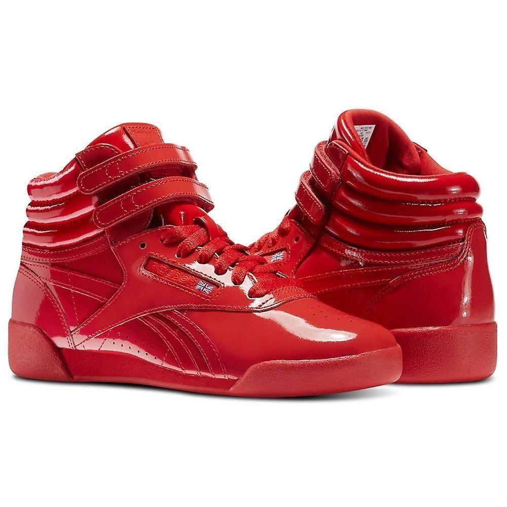 0ba9745fa35 Reebok Kids Freestyle HI lakleder CN2078 universele kids jaarrond schoenen    Fruugo