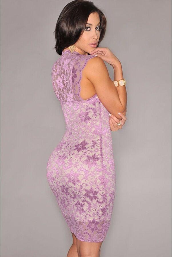 http://www.ebay.com/itm/Women-Sexy-Lace-Sleeveless-Dress-Slim ...