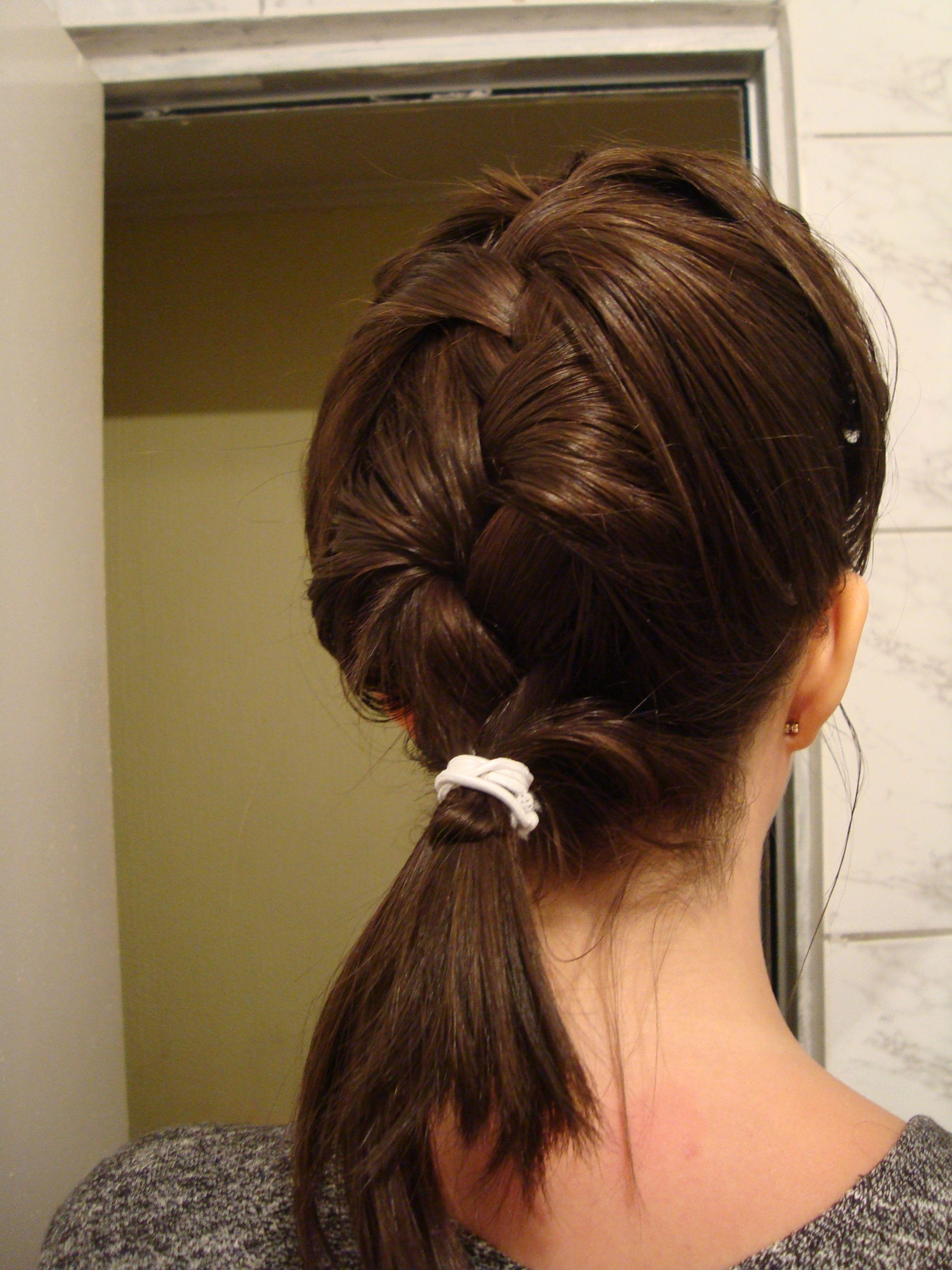 Por fin sé hacer un peinado : la trensa maria!