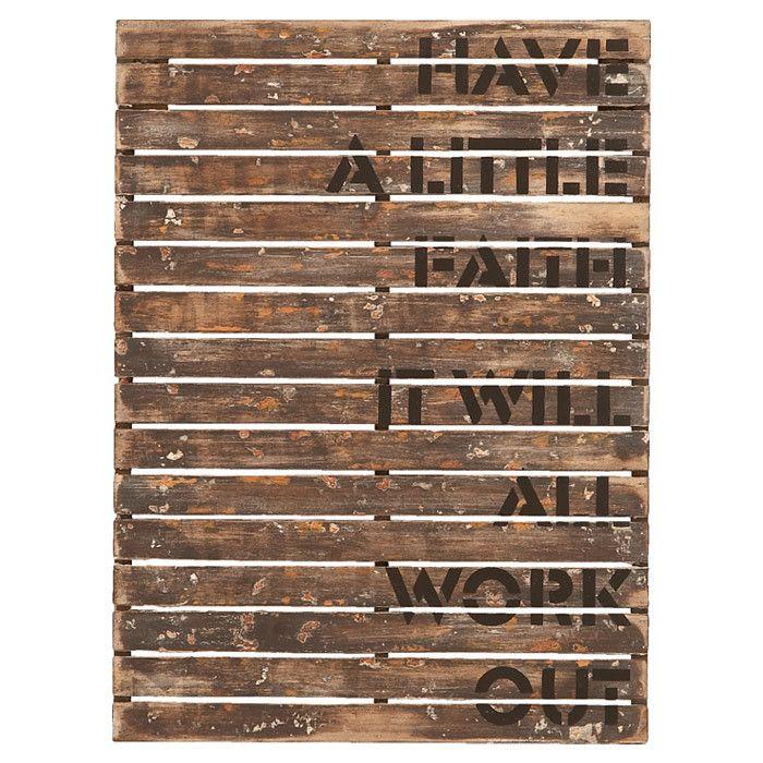 Have a Little Faith Wall Decor