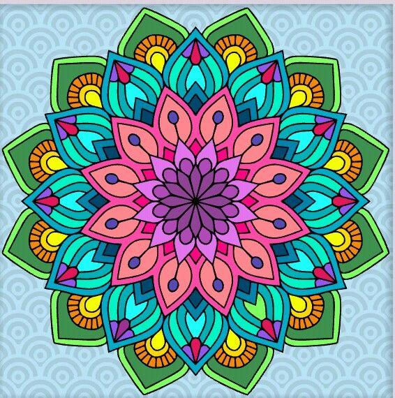 Pin By Cathy Flick On Mandala Art Mandala Art Lesson Mandala Coloring Books Mandala Coloring