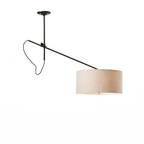 Perfect Solution For All The Off-center Ceiling Lights