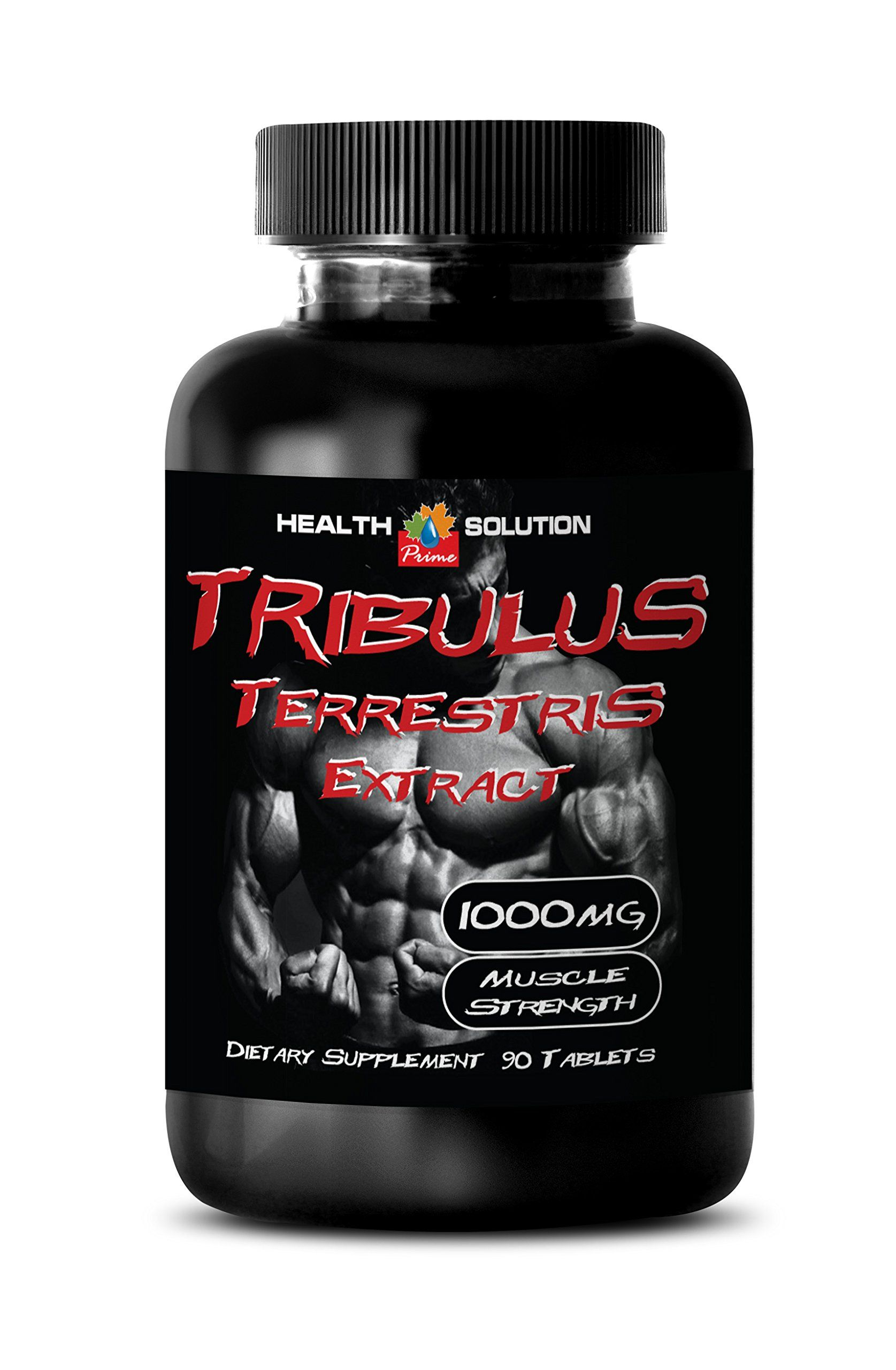 Tribulus Terrestris For Women Extract 1000mg Muscle Strength Testosterone Supplements 1 Bottle 90 Tablets