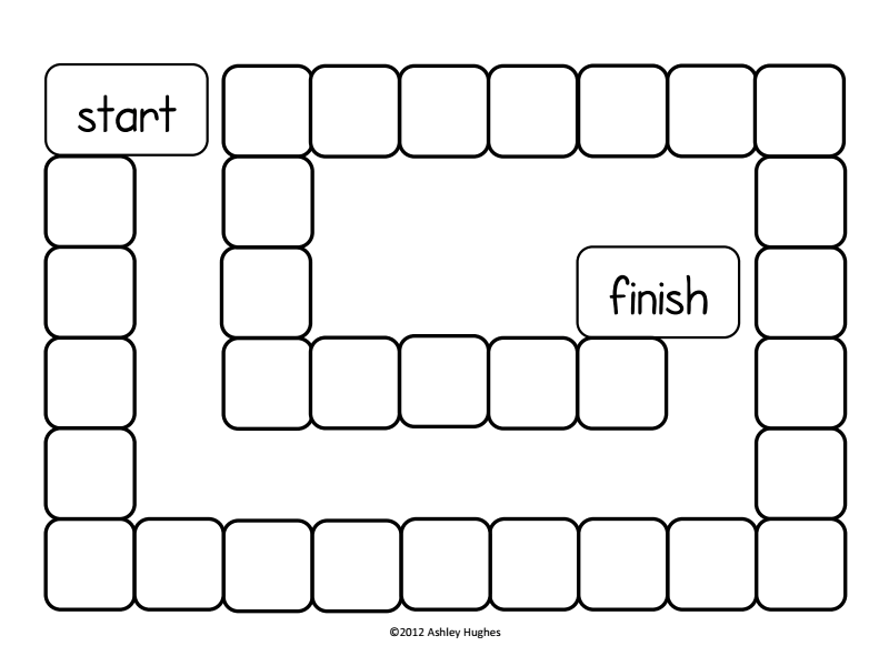 This is a picture of Monster Printable Board Games Pdf