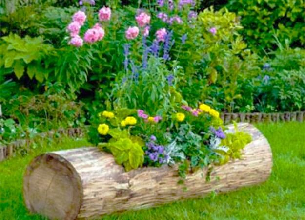 15 Unusual Flower Beds and Container Ideas for Beautiful Yard ...
