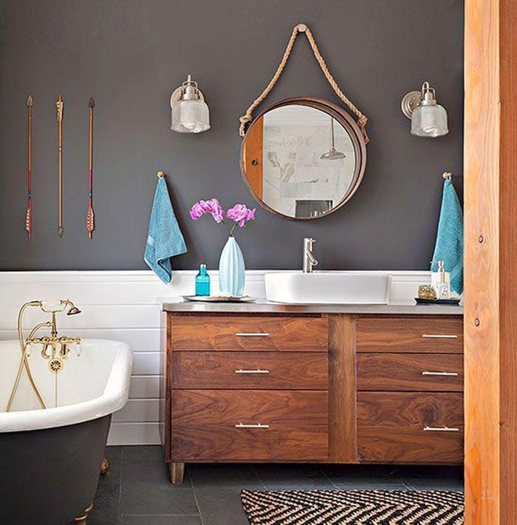 49 Erstaunliche Moglichkeiten Ihr Badezimmer Zu Verbessern Tolle Badezimmer Schminktisch Und Badezimmer
