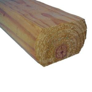 3 In X 5 In X 8 Ft Pressure Treated Pine Landscape Timber