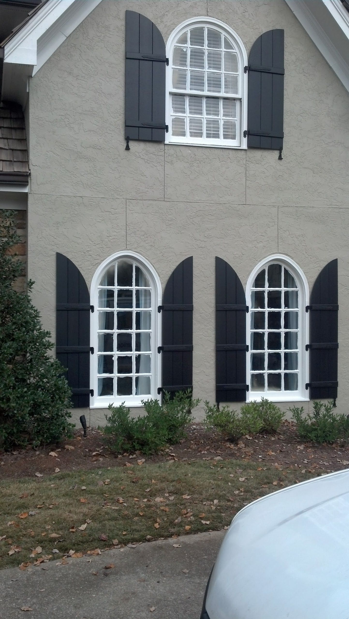 These #custom #shutters maintain the integrity if this home\'s ...