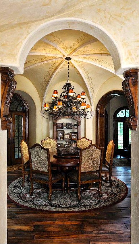 Tuscan Love These Floors Tuscan Dining Rooms Tuscan House