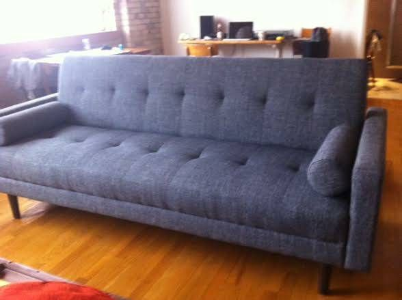 mid century sofas toronto regency rosewood sofa table couch sleeper for sale used 300 house
