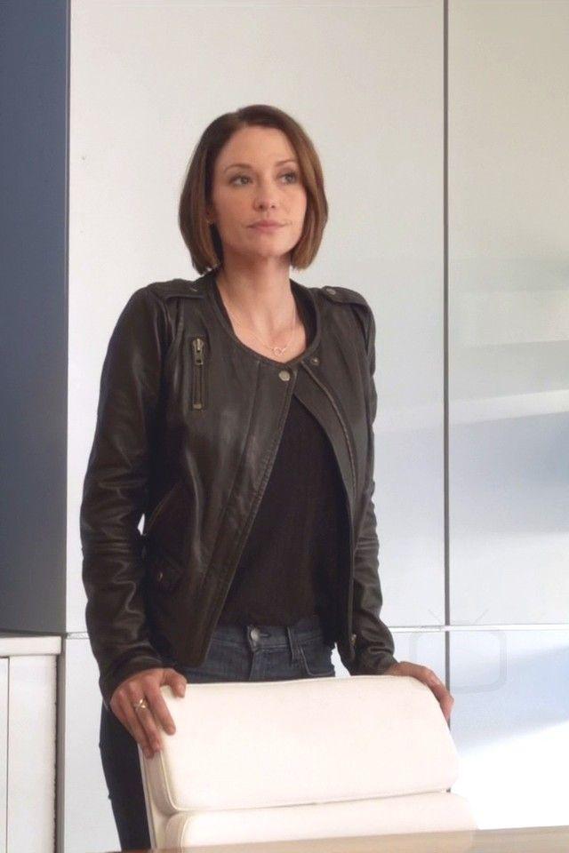 Alex Danvers wearing  Muubaa Ramu Leather Jacket