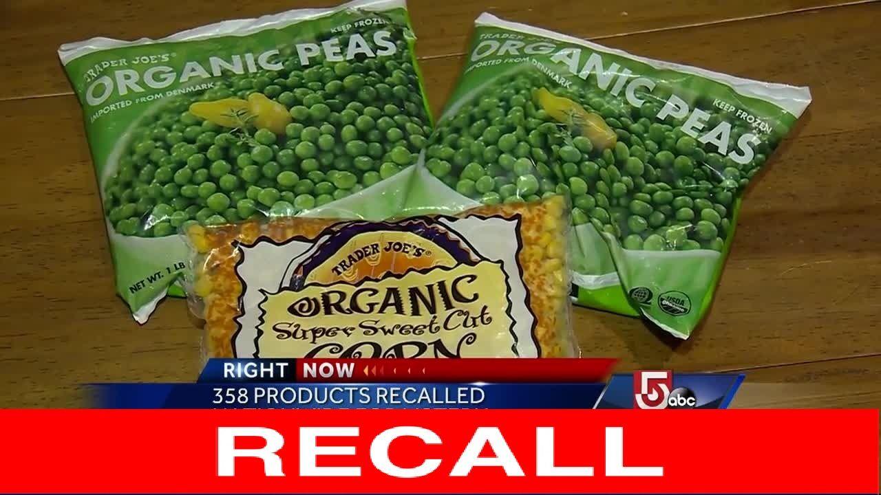 All 44 frozen foods walmarts recalling right now food