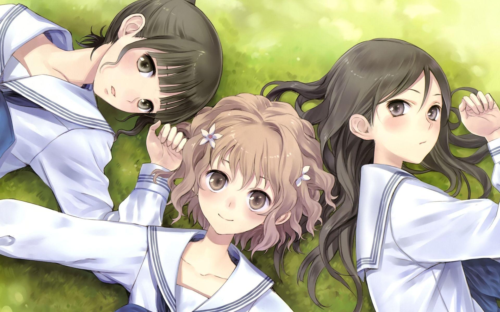 Bff Sia Me Tsampika Anime Anime Best Friends Hanasaku