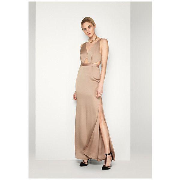 Fall Tan Brown Evening Dresses