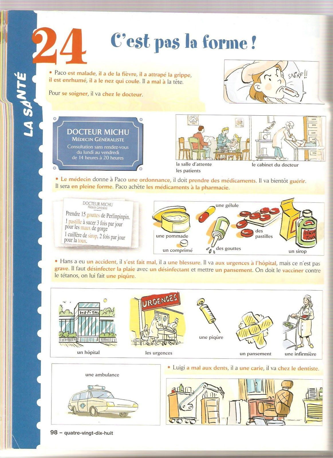 5 French Worksheets For Grade 1 Activity 001 In