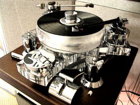 Transrotor Turbo Dual Tonearm Turntable 40 000