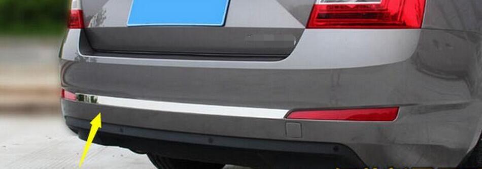 Rear Trunk Garnish Chrome Molding Trim 2p For 2013-2015 Chevy Trax Chevrolet