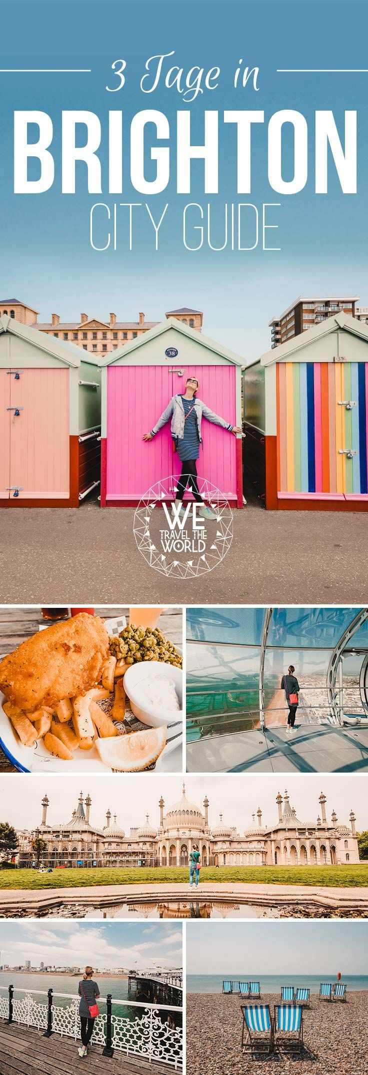 Brighton in 3 Tagen – City Guide mit 17 großartigen Sehenswürdigkeiten, die jeder be