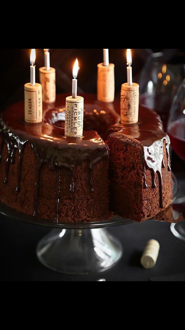 Red Wine Chocolate Cake Vino Y Ganache Sweet Treats