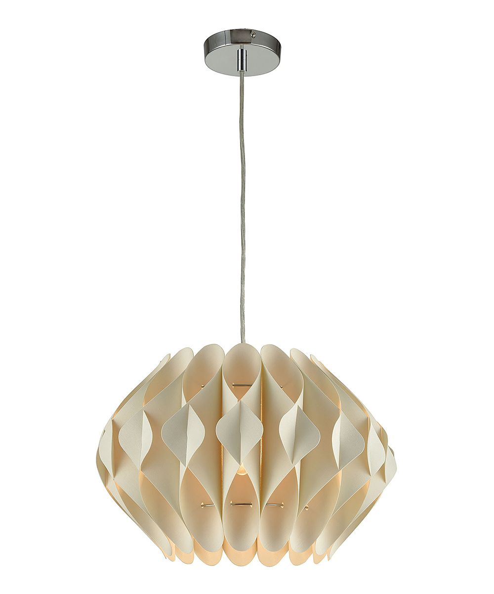 Offwhite kirigami pendant lamp kirigami and products