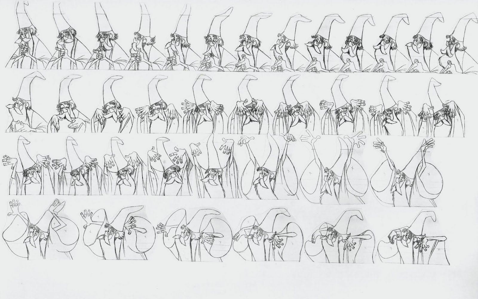 Animation Drawing By Milt Kahl