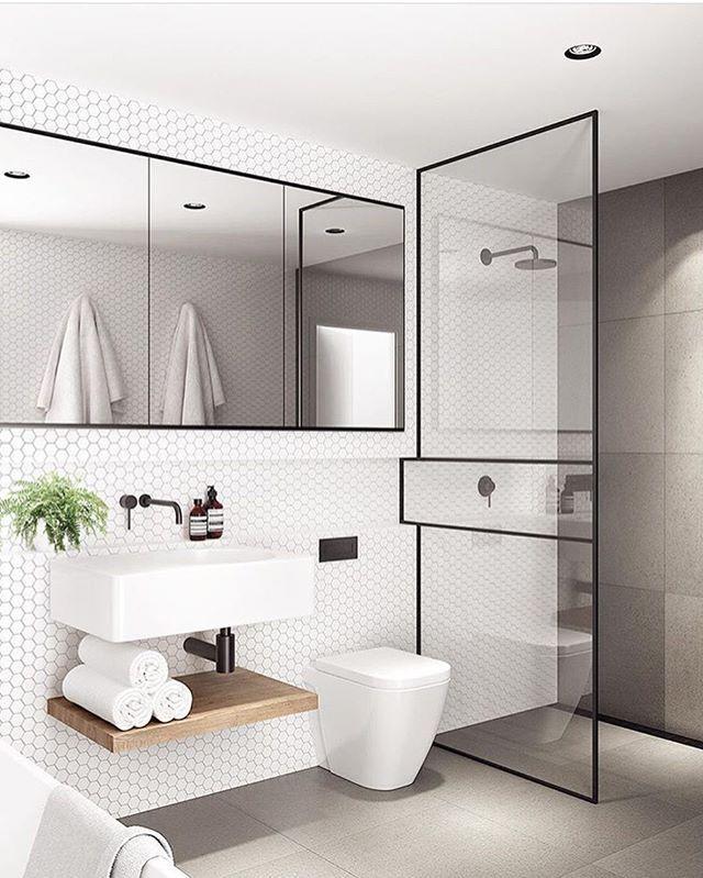 Baño de invitados ✨ Baños Pinterest Baño de invitados, Baños