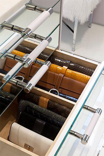 Custom Closet Organizers - Clutch drawer