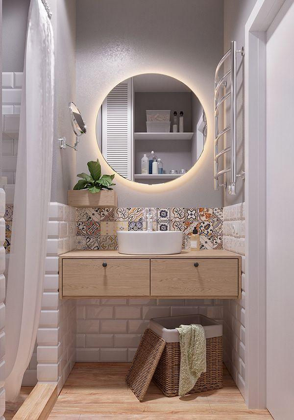 Scandinavian boho on Behance in 2020 | Easy bathroom ...