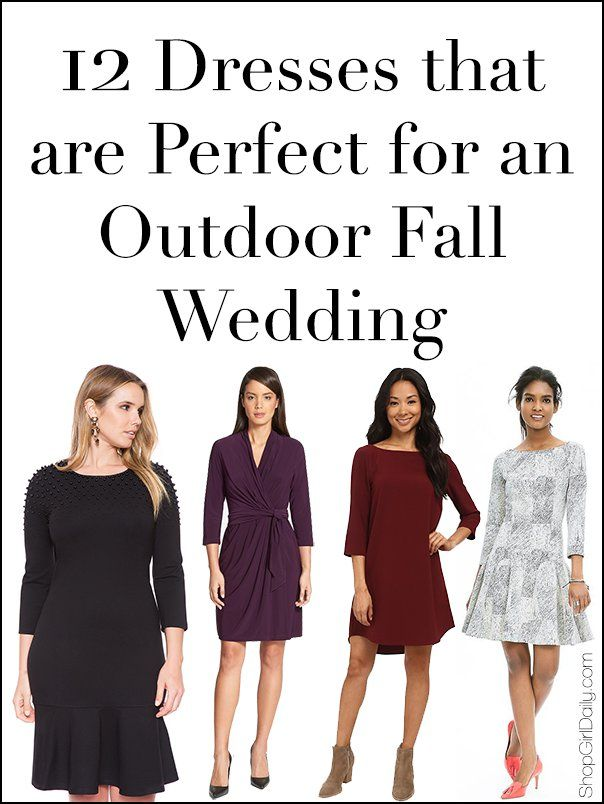 Shop Girl Daily Fall Wedding Guest Dress Fall Wedding Outfits Wedding Attire Guest