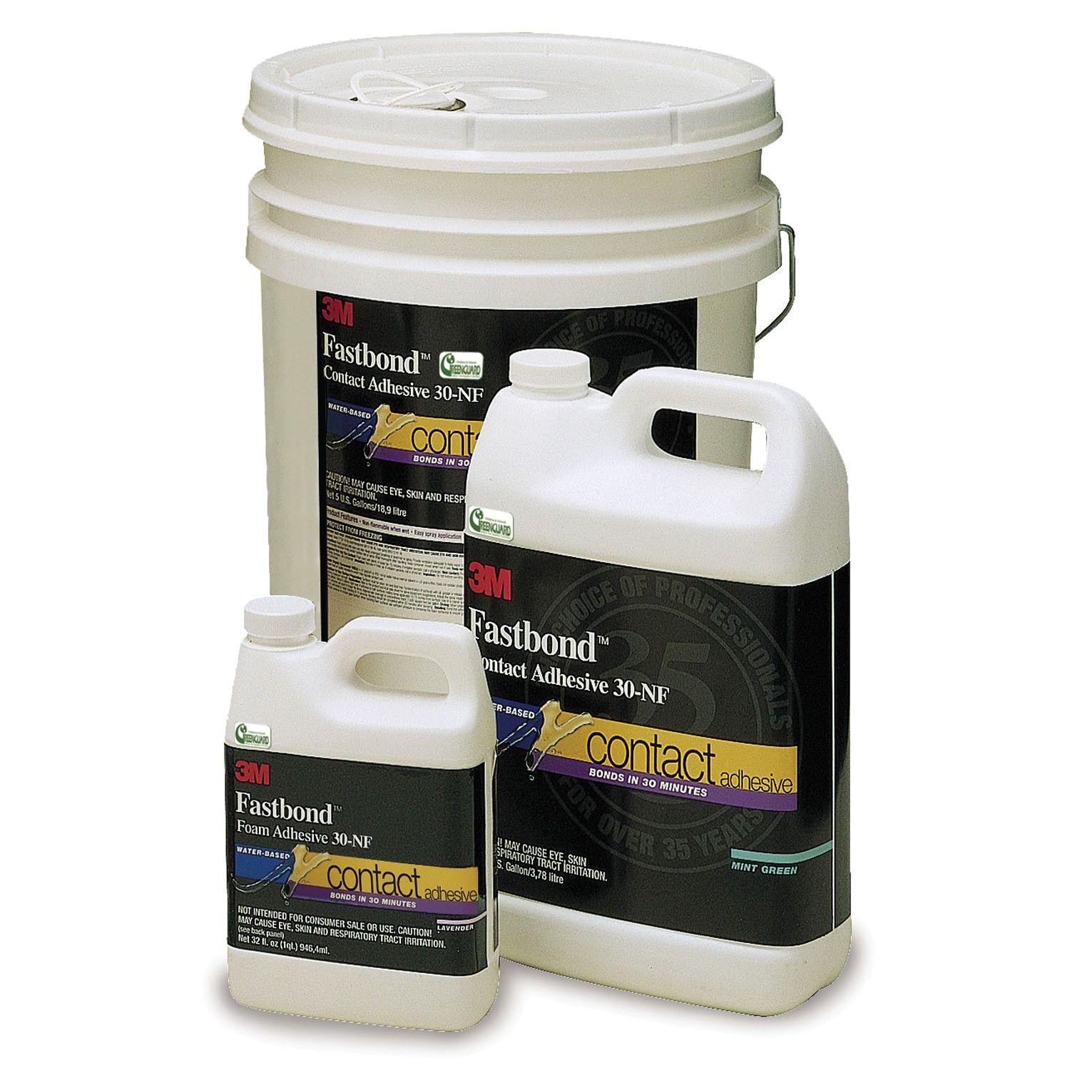 3M Fastbond Contact Adhesive 30NF creates a very high