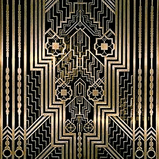 Art Nouveau,gold,black,art Deco,vintage,victorian,belle
