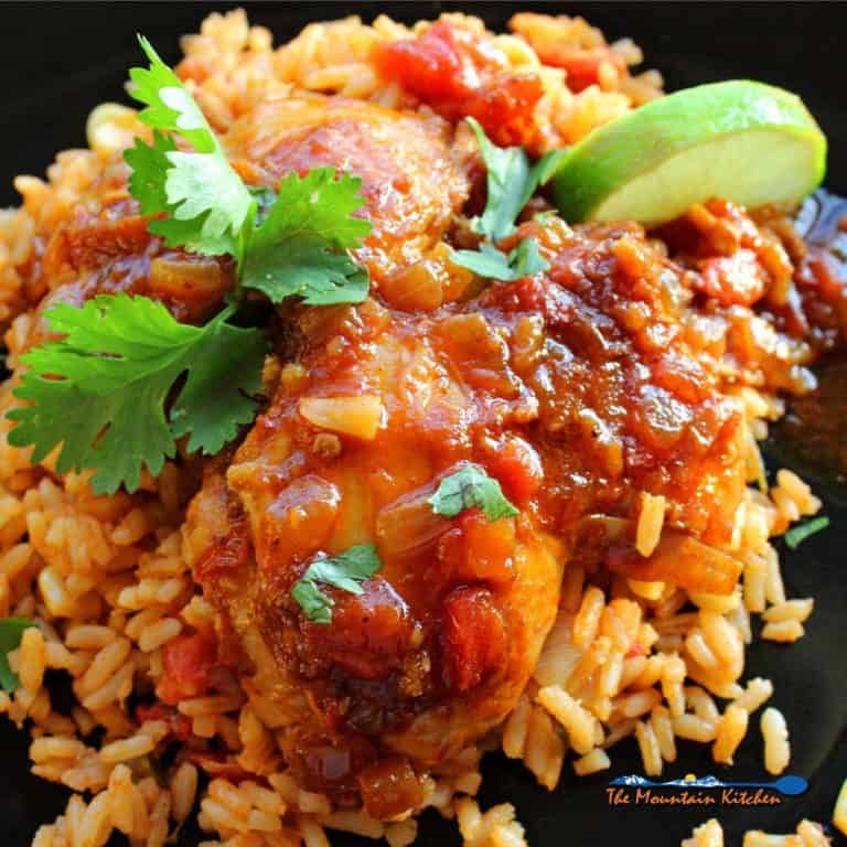 Mexican Spiced Chicken Thighs: Mexican Deviled Chicken