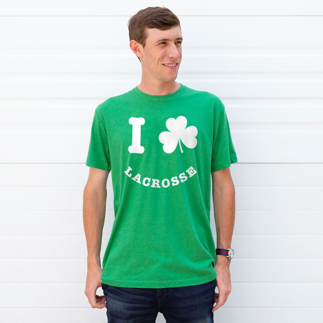 8ececc3a Lacrosse Youth Short Sleeve T-Shirt - Shamrock Lacrosse Smile | Green,  Youth, XL | Lacrosse Youth St. Patrick's Apparel