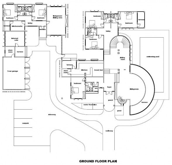 Big home blueprints big house floor plan big house floor House plans mcallen tx