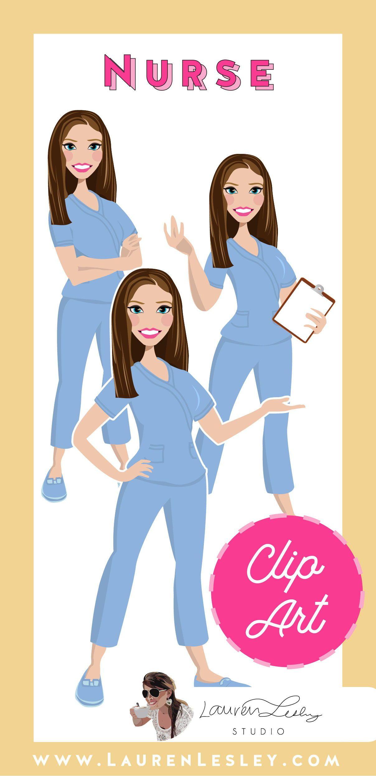 Nurse Clip Art Meg Nurse clip art, Clip art, Student