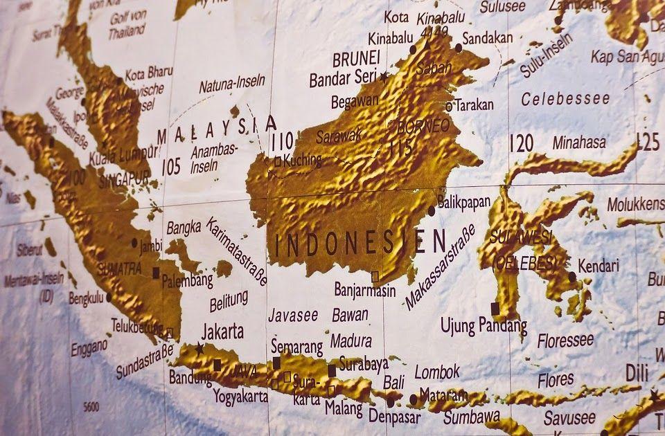 Peta Buta Indonesia Dan Keterangannya Di 2020 Peta Kota Kinabalu Pulau