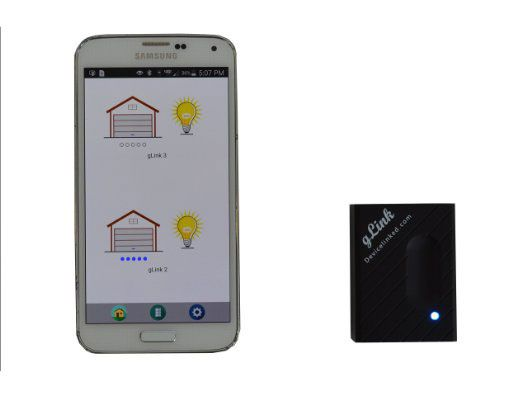 Glink Turns Your Phone Into A Garage Door Opener Home Automation