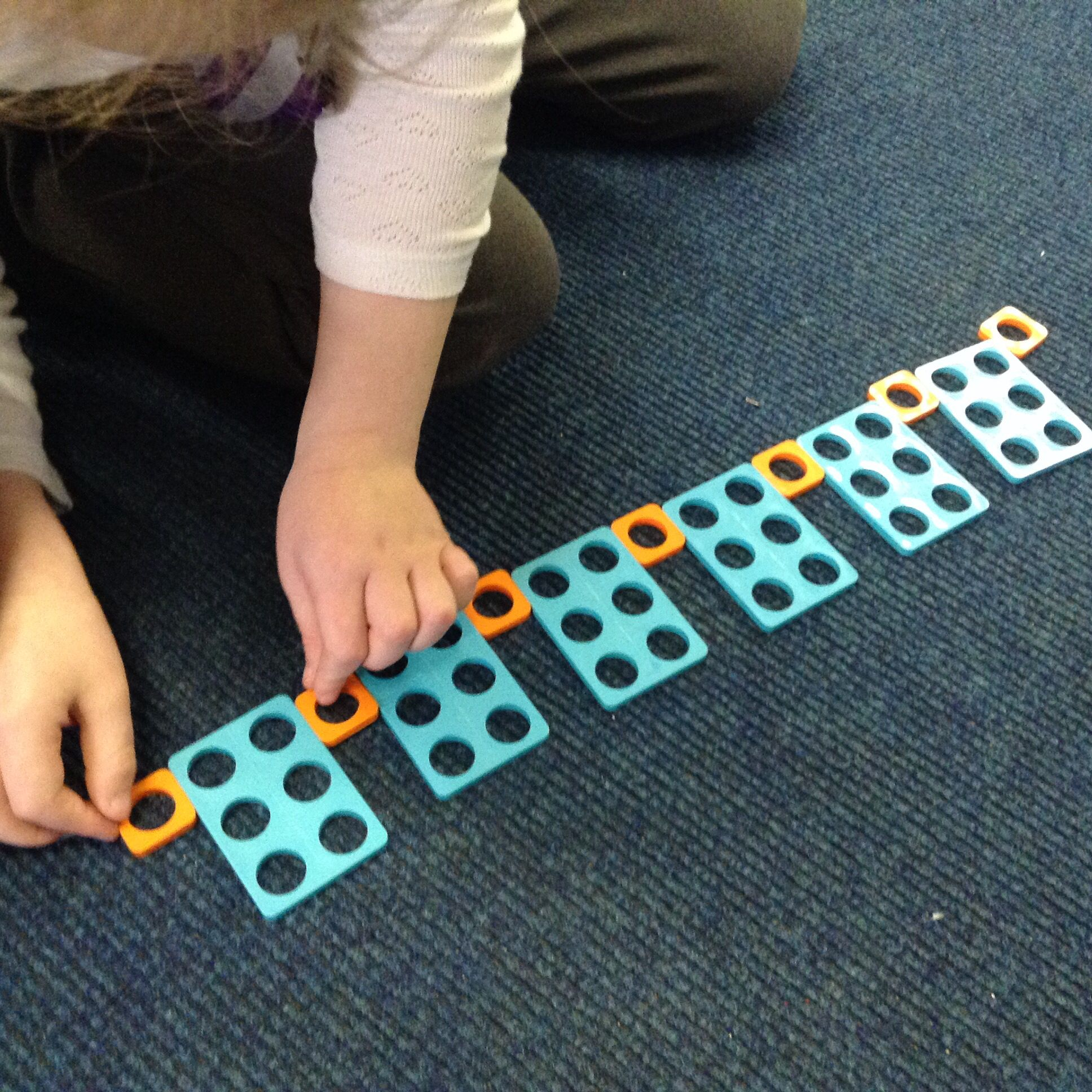 Pattern Making With Numicon