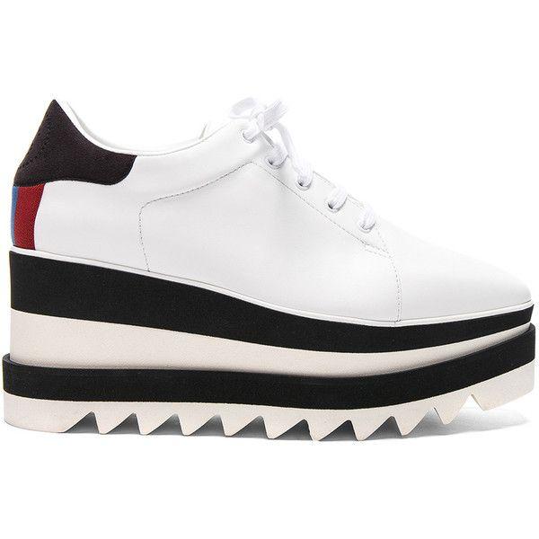 stella mccartney white platform shoes