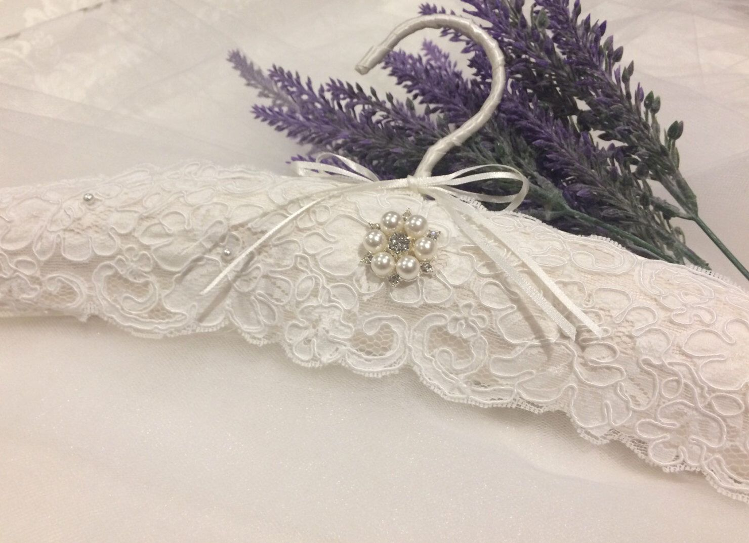 A personal favourite from my Etsy shop https://www.etsy.com/au/listing/467398369/bridal-gown-hanger-wedding-hanger-lace